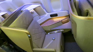 Photo: New business class seat Singapore Air's new B777-300ER