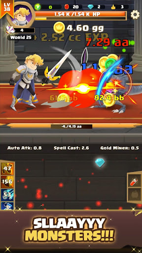 Clicker Knight: Incremental Idle RPG 5 screenshots 1