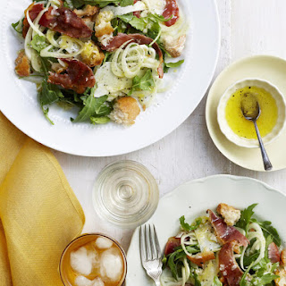 Fennel, Prosciutto and Parmesan Salad