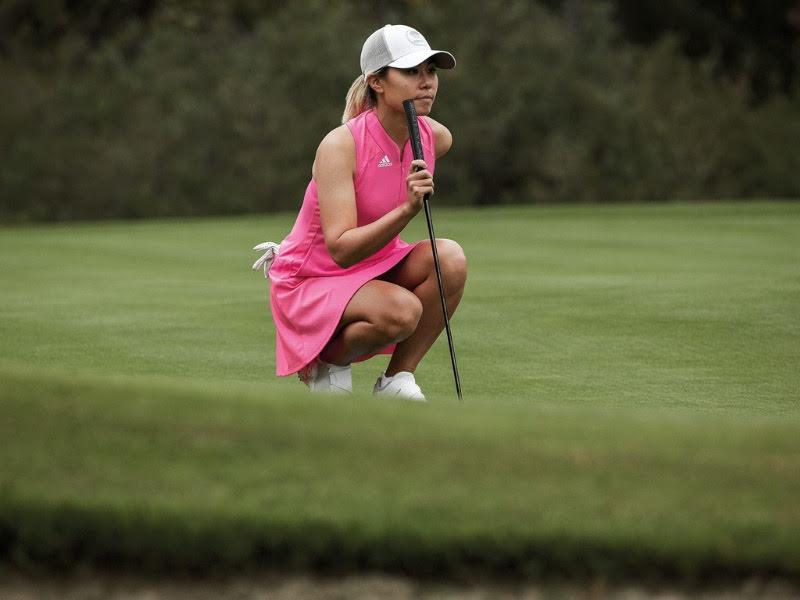 Golfkläder och golfskor dam