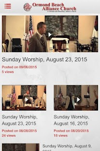 Ormond Beach Alliance Church- screenshot thumbnail