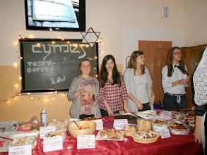 Photo: kawiarenka Cymes obfitowała w dania żydowskie