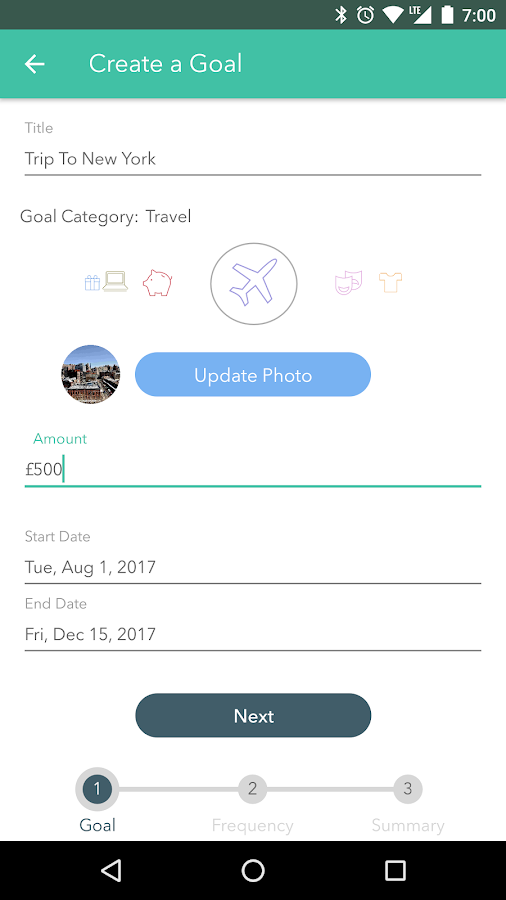 Folio - Save Money Automatically- screenshot