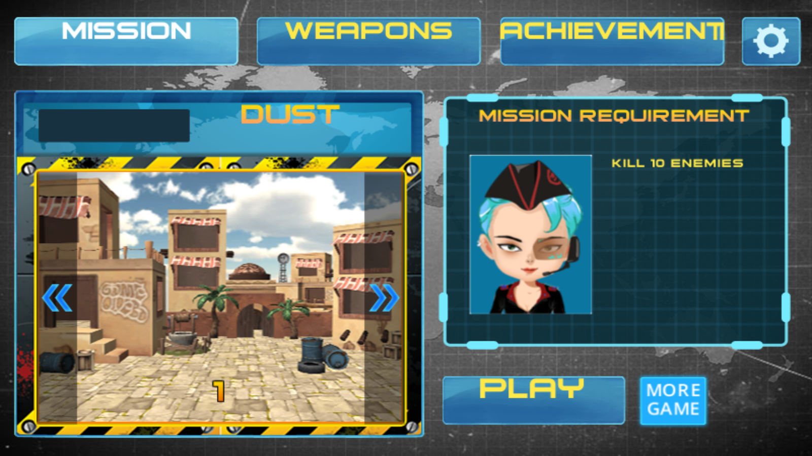 Modern War for MotionPlay- screenshot