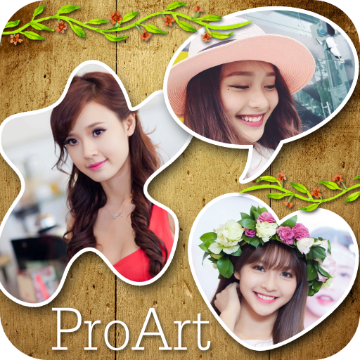 Picture Grid Collage Free 攝影 LOGO-玩APPs