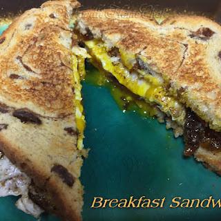 Breakfast Sandwich.