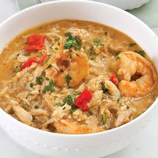 Crab and Shrimp Stew.