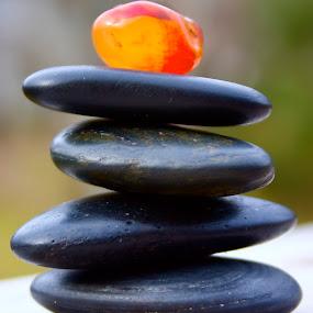 Meditation Rocks by Jennifer Lamanca Kaufman - Products & Objects Healthcare Objects ( meditation rocks, peaceful, relaxation, yoga, spa )