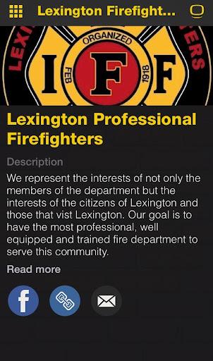 Lexington Firefighters