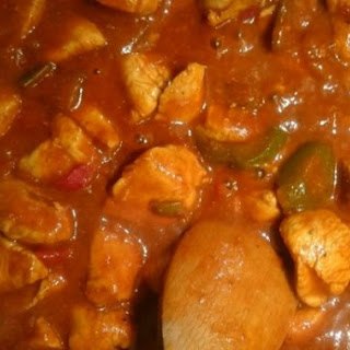 Sweet Chicken And Mango Curry.