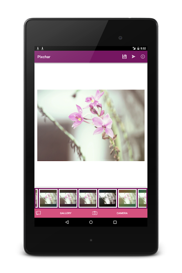 Pixchar - Photo Filters- screenshot