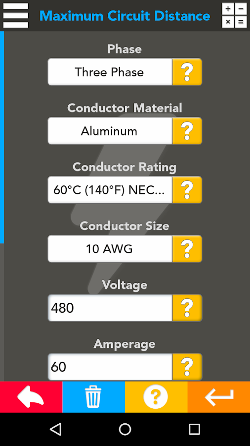 Master Electrical Suite- screenshot