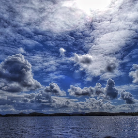 by Jose Figueiredo - Landscapes Cloud Formations ( water, clouds, nature, fjord, norway,  )