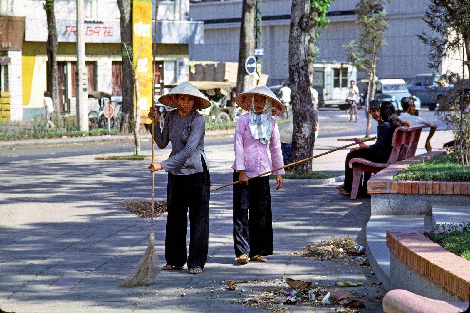 60 tấm ảnh màu đẹp nhất của đường phố Saigon thập niên 1960-1970 - 48