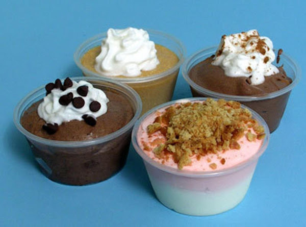Adult Pudding Shots (10 Assorted) Recipe