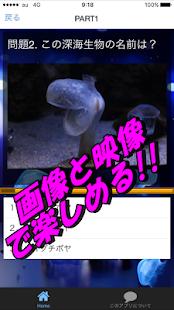 深海生物 クイズ 海底探検で謎と不思議の好奇心を満たす 新種の深海魚の神秘を探る無料アプリ - náhled