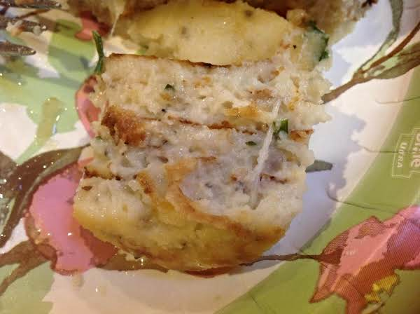 Cheesy Parmesan Potato Pancakes Recipe