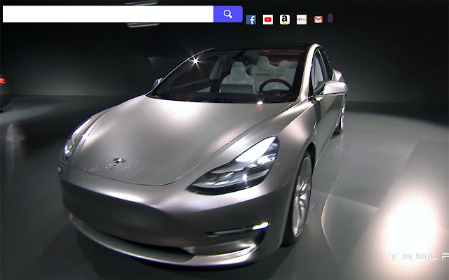 Tesla Model 3 Hd Wallpapers New Tab