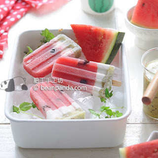 Watermelon Popsicles ~ All Natural Ingredients