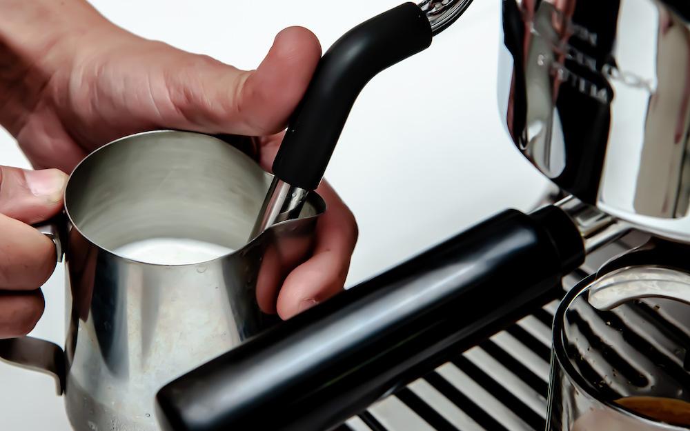 coffee machine steam wand