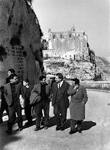 Photo: Carlo Levi nei Sassi di Matera, 1960. - Foto di Mario Carbone