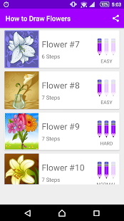 Learn How to Draw Flowers - náhled
