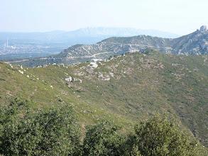 Photo: Massif de l'Etoile. Pilon du Roi vu depuis l'Etoile