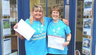 Stepping out for Parkinson's