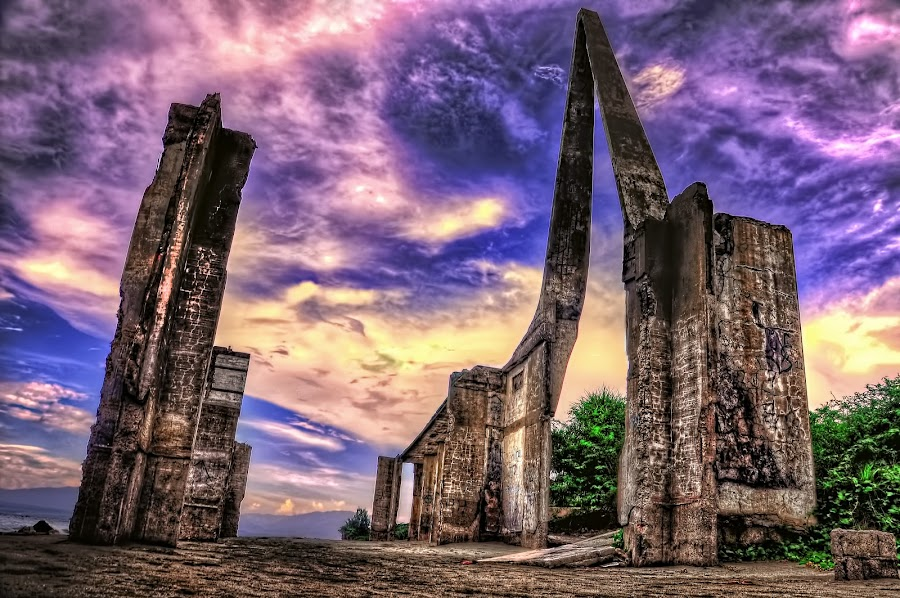 Ruins by Eshwer Gonzales - Landscapes Travel