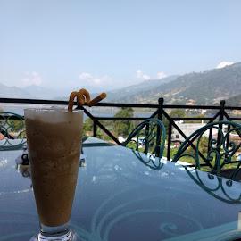 drink by Zac Rushbrook - Food & Drink Alcohol & Drinks ( coffee, pokahra, nice day, nepal.phone, nepal )