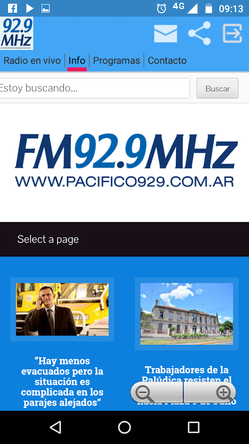 Pacifico 929: captura de pantalla