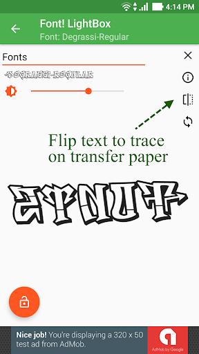 Font! Lightbox tracing app  Wallpaper 4