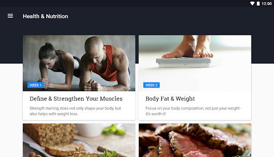 App Runtastic Results Bodyweight Workout Program APK for Windows Phone