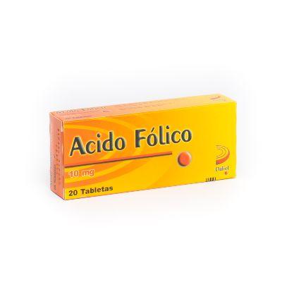 Acido Fólico Meyer 10 mg x 20 Tabletas