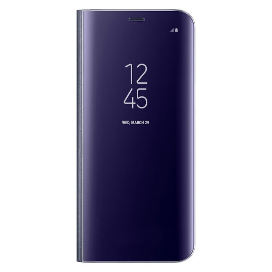 Samsung Galaxy S8 fodral Clear View Cover Lila