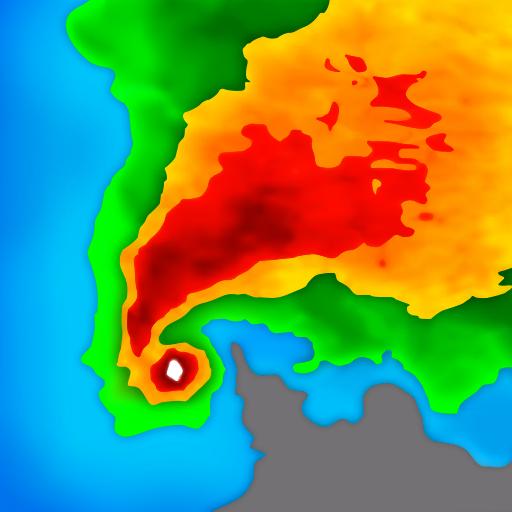 رادار الطقس المباشر والتوقعات