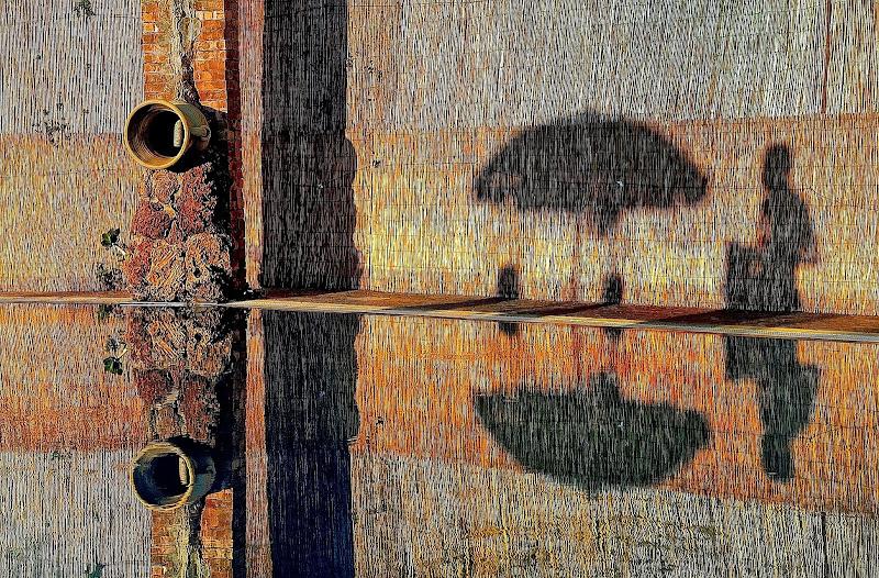 riflessioni simmetriche di Enrico Balla