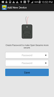 Garage Door Remote Open Sesame- screenshot thumbnail