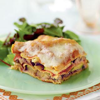 Zucchini Eggplant Lasagna.