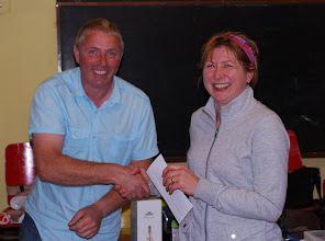 Photo: Carmel Lynagh, Templemore A.C. winner of O/50 Ladies prize