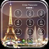 Paris Passcode Lock Screen APK for Bluestacks