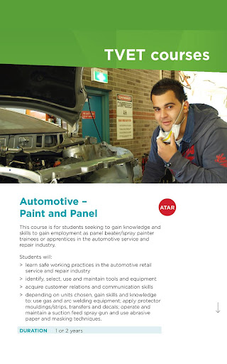 Tafe spray painting course sydney