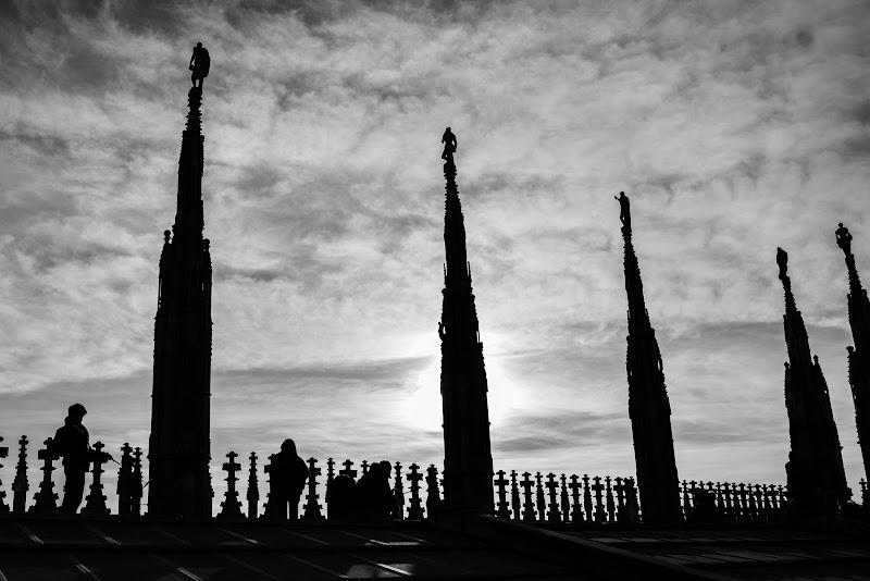 Le guglie del Duomo di francocattazzo
