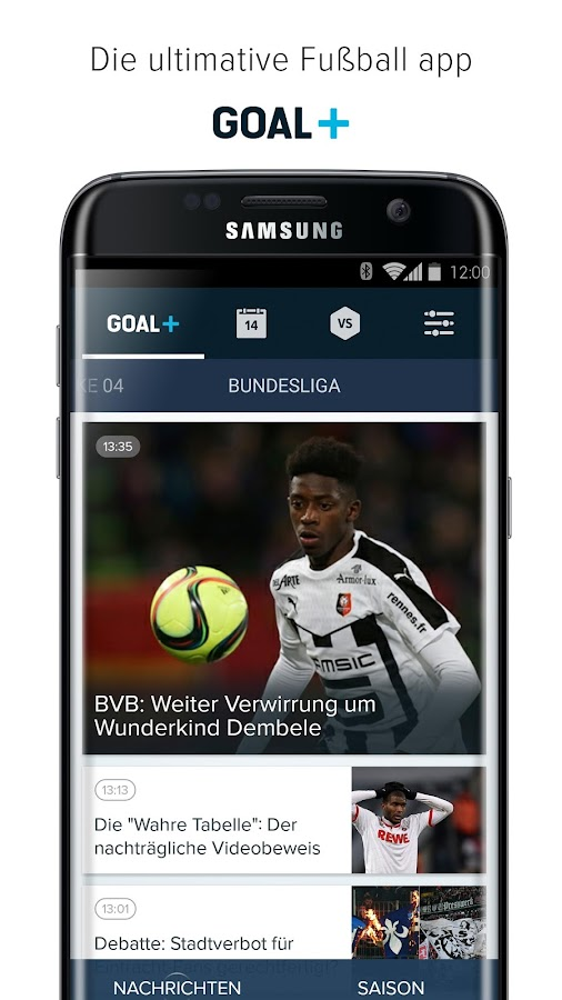 Goal+ – Screenshot