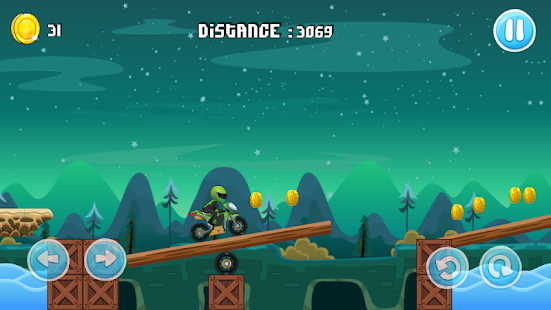 Motocycle Road 2D Screenshot