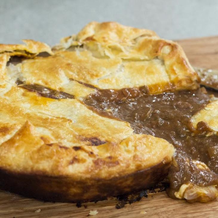 Panhead Stout Steak & Cheese Pie