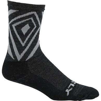 "Surly Vortechia 5"" Sock: Black/Gray"