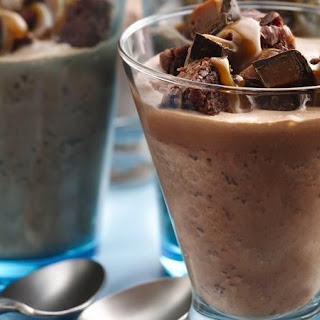 Fudgy Brownie Salted-Caramel Shakes