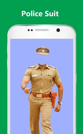 Men Police Suit Photo Editor - Men Police Dress 1.0.26 screenshots 1