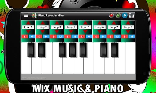 Piano Recorder Mixer screenshot